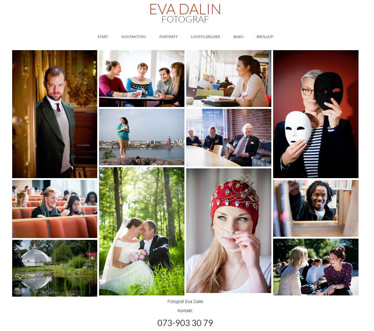 Kunder Webbduon, Fotograf Eva Dalin